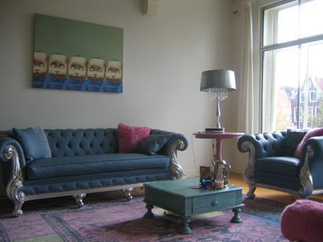 Woonkamer Inspiratie Blauw : Interieur inspiratie woonkamer