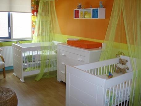 Babykamer Tweeling Ideeen : Interieur inspiratie vele tweeling babykamer ideeën op een site