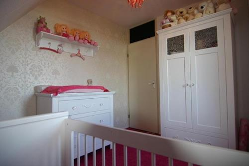 Babykamer Meisje Grijs Roze.Wij Hebben Veel Ideeen Voor Je Meisjes Babykamer