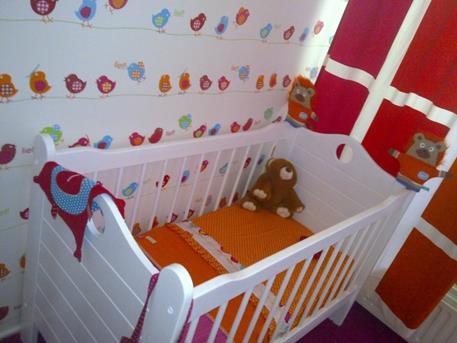 Behang Kinderkamer Vogeltjes : Interieur inspiratie wij hebben veel babykamer ideeën o.a. met lief