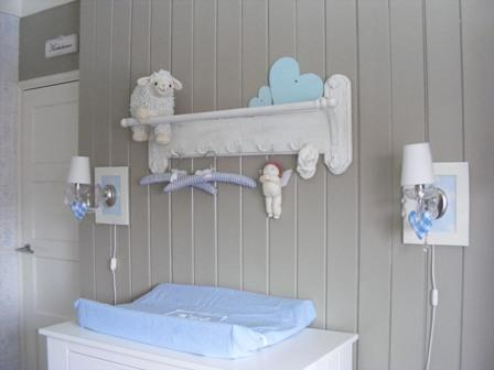 Babykamer Inrichten Ideeen : Interieur inspiratie brocante jongens babykamer