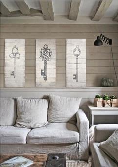 houten wanddecoratie