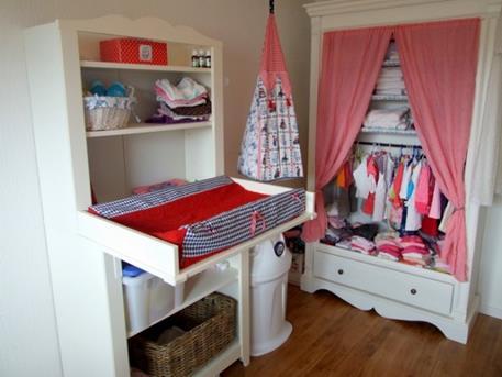 Interieur Inspiratie Babykamer rood wit blauw - Interieur Inspiratie