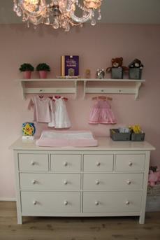 Interieur inspiratie babykamer ikea interieur inspiratie - Roze kleine kamer ...