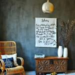 Je huis inrichten met je eigen inspiratiewanddoek