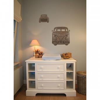 interieur inspiratie wanddecoratie babykamer