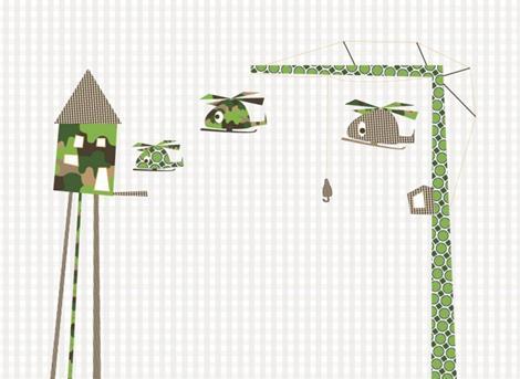 posterbehang-helicopter-hijskraan-Perron11