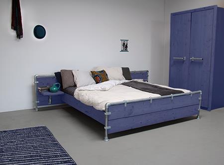 Interieur Inspiratie Slaapkamer blauw - Interieur Inspiratie