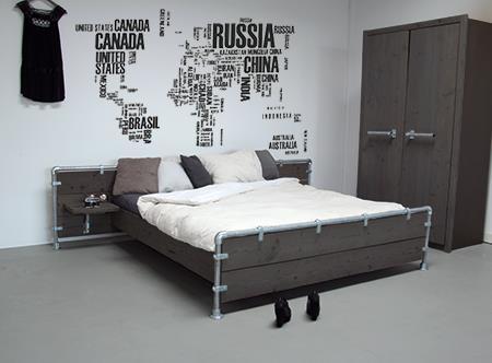 Interieur Inspiratie Slaapkamer zwart - Interieur Inspiratie