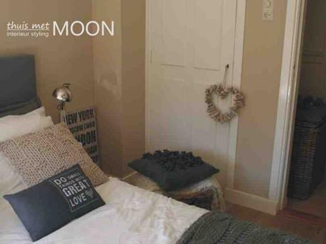 Interieur inspiratie stoere slaapkamer interieur inspiratie for Behang voor slechte muren