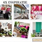 6x inspiratie voor kussens op maat, binnen én buiten!