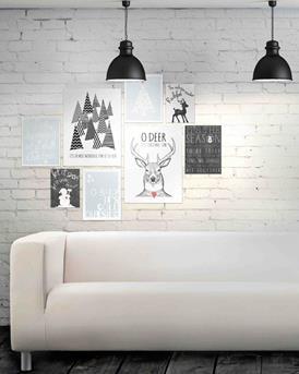 muurdecoratie prints