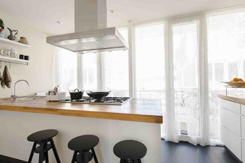 Interieur inspiratie keuken met studio ditte behang for Edha interieur nl