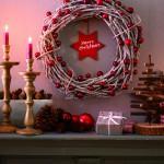 Maak je eigen kerstkrans van takken