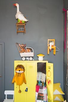 geel in de kinderkamer