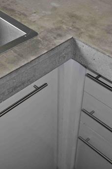 betonnen werkblad