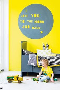 Interieur Inspiratie Geel in de kinderkamer - Interieur Inspiratie
