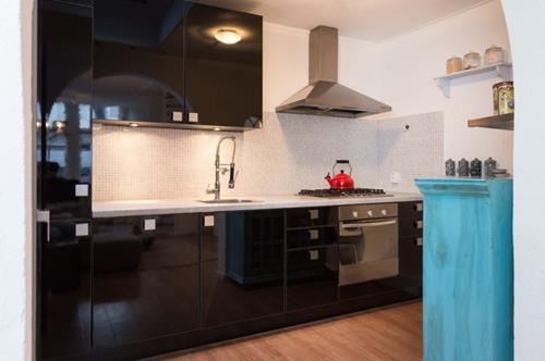 Hoogglans Zwart Keuken : Interieur inspiratie zwarte hoogglans keuken interieur inspiratie