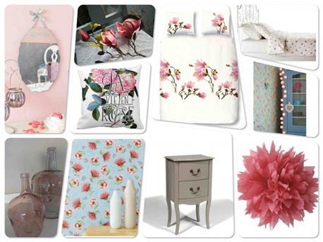Woonkamer Inrichten Romantisch : Interieur inspiratie romantische slaapkamer vol bloemen