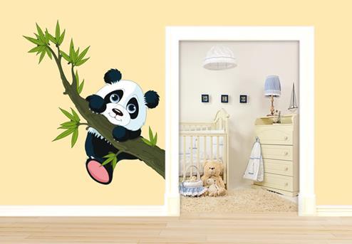 muursticker panda
