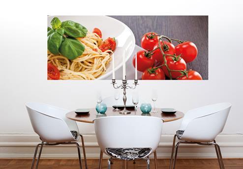 Spaghetti_Pomodoro_Muurprint_Panorama