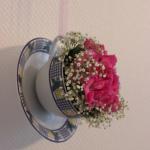 Bloemen in een kopje