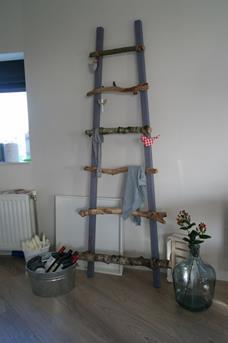 ladder in de keuken DIY