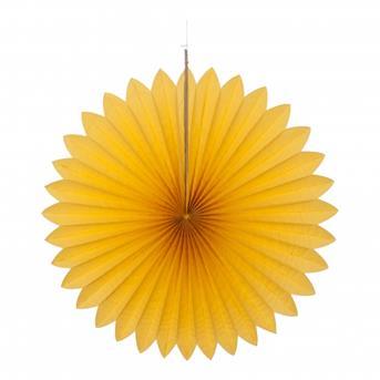 waaier geel