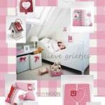 Roze meisjeskamer voor lieve grietjes