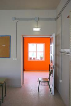 oranje muur