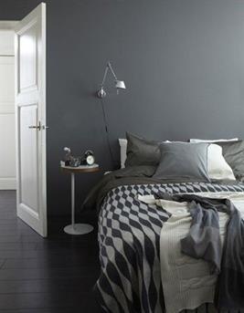 slaapkamer donkergrijs