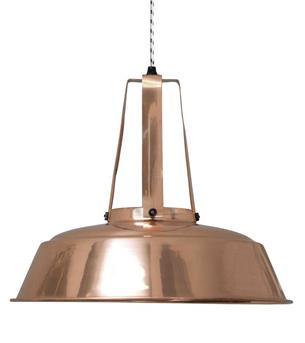 industriele hanglamp koper HK living
