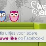 Wallart-Deco geeft gratis uiltjes weg