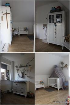 landelijke babykamer