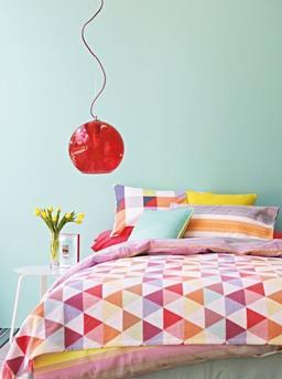 pastel groen slaapkamer