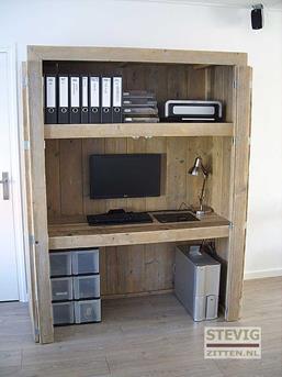 Computerkast Van Steigerhout.Top Tien Computerkasten Interieur Inspiratie