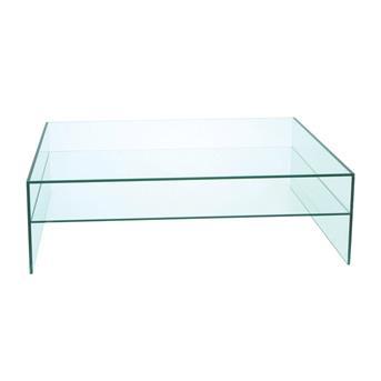 2Dehands design glazen salontafel