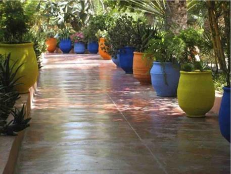 mediterrane tuin tegels