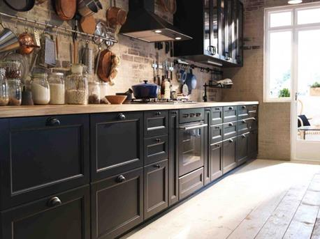Interieur inspiratie nieuw keukensysteem van ikea breekt met ...