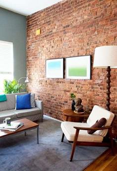 Interieur Inspiratie Een kale muur - Interieur Inspiratie