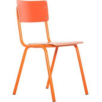 stoel oranje