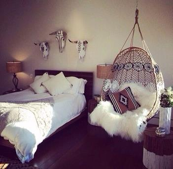 ibiza style slaapkamer