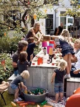 feest in de tuin