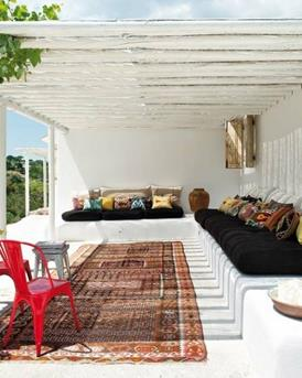 ibiza style patio