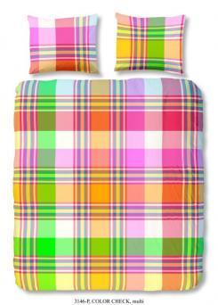 kleurrijk dekbedovertrek