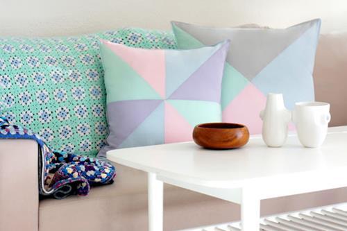 Interieur Inspiratie Pastel in je woonkamer - Interieur Inspiratie