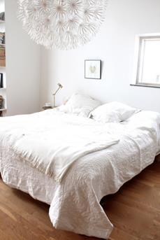 maskors slaapkamer wit