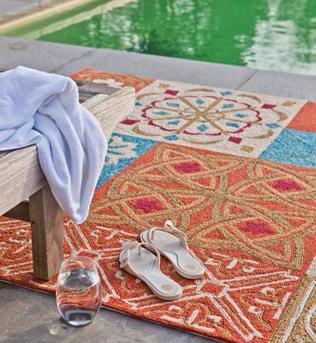 vloerkleed ibiza style