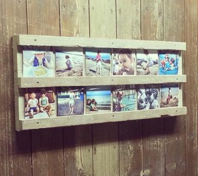 Interieur inspiratie vakantieherinneringen in een for Idee fotowand