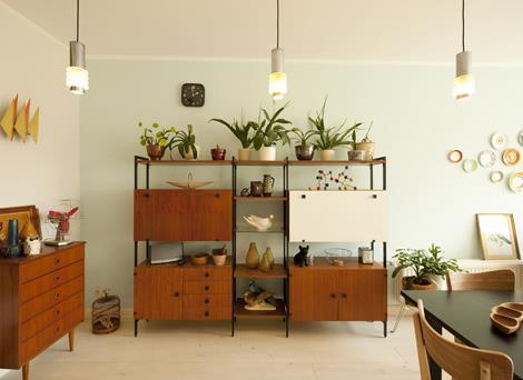 Interieur inspiratie retro is terug van weg geweest for Interieur 1960